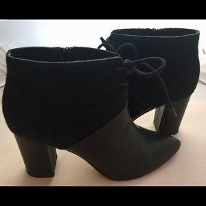 Seychelles Leather & Calf Hair high heel boot